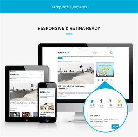 theme junkie daily theme junkie responsive supernews html template
