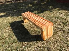 Patio Bench Angelic Diy Patio Bench In Minimalist Style Made Of Wooden