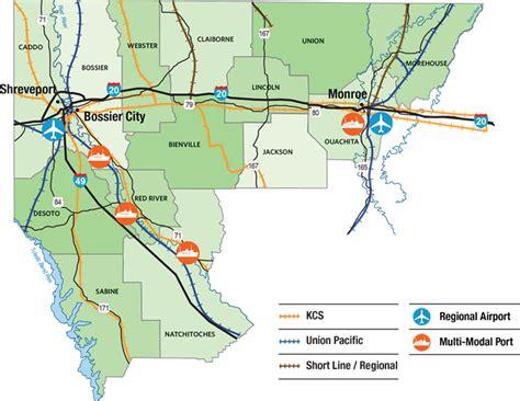 louisiana economy map nlep louisiana economic partnership regional data