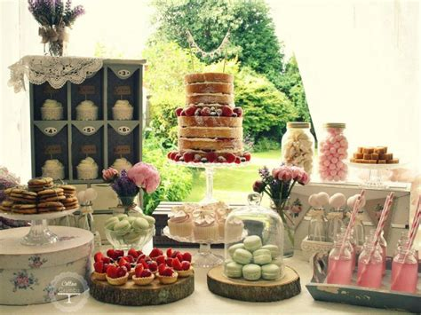how to create a rustic dessert table for your barn wedding rustic wedding rustic dessert table 2130052 weddbook