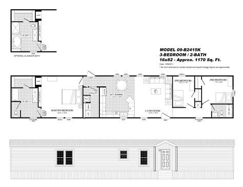 model 2409cav single section our homes model 09 b2415k single section our homes