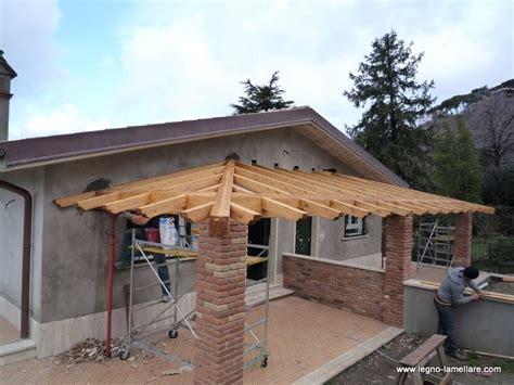 tettoia in legno costo coperture in legno lamellare prezzi
