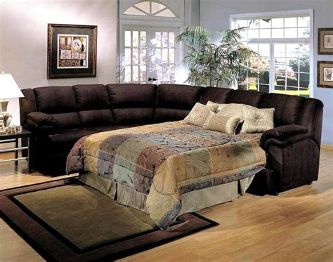brown leather sectional sleeper sofa comfortable sectional sleeper sofa design ideas rilane