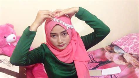 youtube tutorial hijab kondangan tutorial hijab party bisa untuk kondangan dan acara
