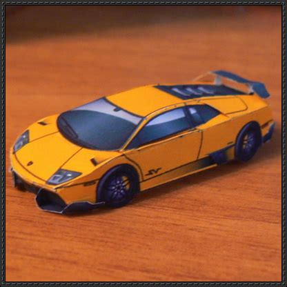 the gallery for gt papercraft lamborghini gallardo