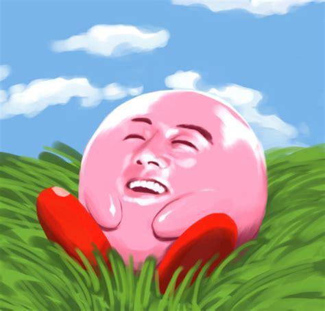 Kirby Memes - reaction face on tumblr