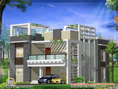 modern square home design news march 2012 kerala home design and floor plans