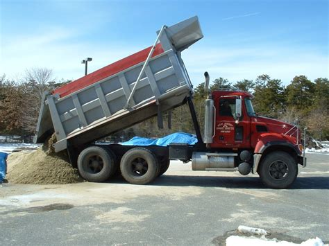 Load Of Gravel Delivered Delivery Services In New Jersey Nj Gravel Sand