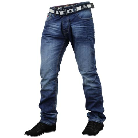 free design jeans mens denim jeans ringspun bottoms trousers pants free belt