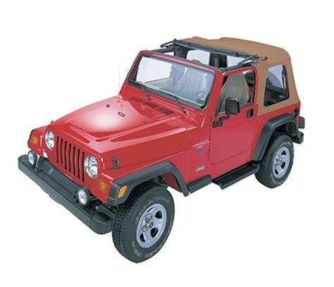 Jeep Wrangler Sunrider Jeep 1997 Wrangler Sunrider Complete Replacement Soft Top