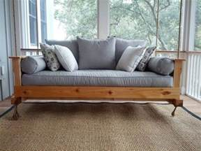 How To Make A Hanging Bed Frame How To Build A Hanging Daybed Swing Diy Projects For Everyone