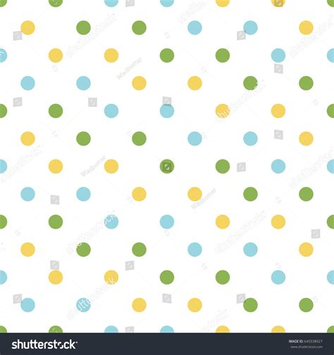 seamless polka dot pattern vector background seamless polka dot pattern vector background stock vector