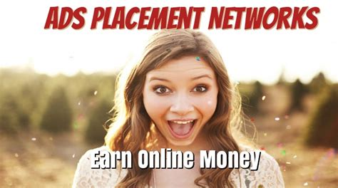 How To Make Money From Online Ads - how to make money online part 2 ads placement networks
