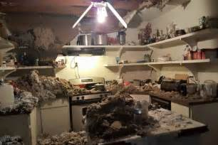 kitchen ceiling collapse by deb martin gofundme