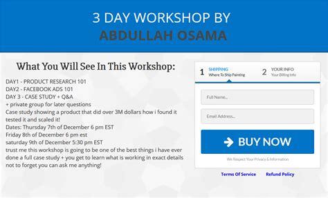 fb product abdullah osama 3 day workshop ebusinessstores