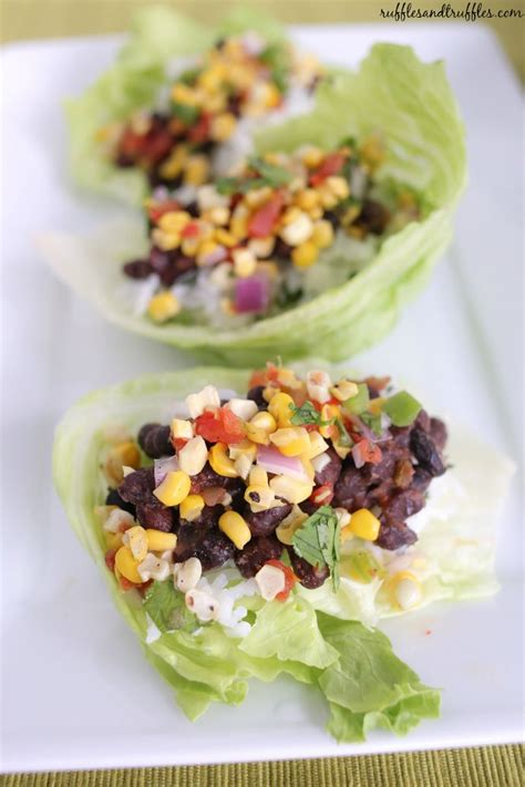 Veggie Detox Lettuce Wraps by Best 25 Corn Salsa Recipes Ideas On Corn