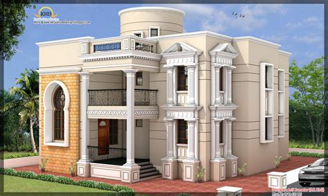 house elevation 3881 sq ft kerala home design and