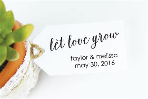 Wedding Giveaway Tags - etsy wedding ideas for a rustic fall wedding erin pelicano