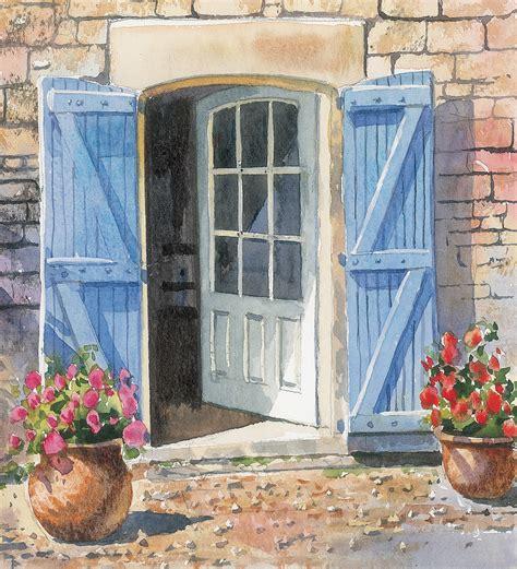 acrylic painting door terry harrison open door paintings doors and patios