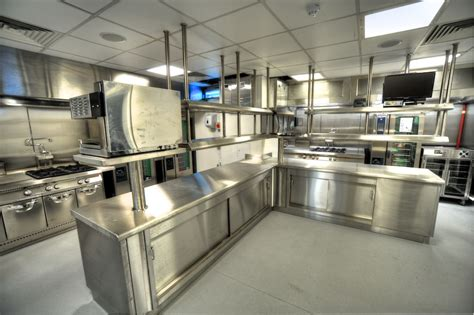 design a commercial kitchen etihad stadium s continuous improvement means new