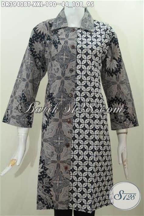 Baju Hitam Kombinasi Batik baju dress hitam putih berbahan batik halus proses kombinasi tulis pakaian batik klasik elegan