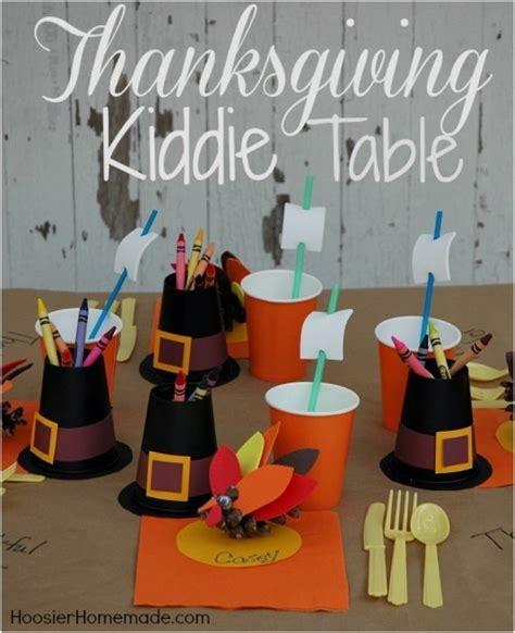 kid crafts for thanksgiving table decorations 15 crafts and decor ideas for the thanksgiving kiddie