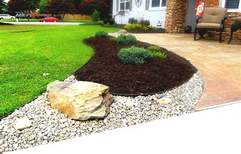 Lava Rocks For Garden Rock Landscaping Rock Landscaping Design Ideas Landscape Design Ideas Rock Ga Front Yard Garden