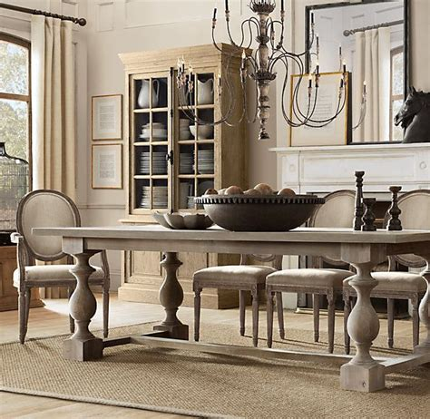 Dining Room Tables Restoration Hardware 17th C Monastery Dining Tables Home