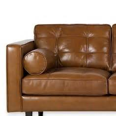 darrin 89 quot leather sofa jcpenney chair obsession