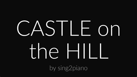 download mp3 ed sheeran castle on the hill lirik lagu castle on the hill ed sheeran torrent mp3 5 05