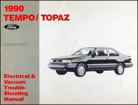 1991 ford tempo mercury topaz wiring vacuum diagram shop manual for sale carmanuals com 1988 ford tempo wiring harness diagram 38 wiring diagram images wiring diagrams gsmx co