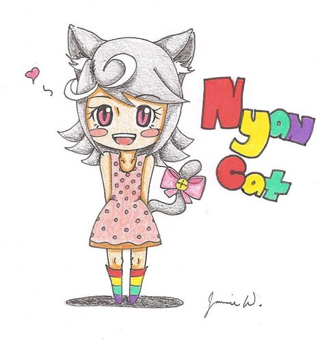 nyan cat chibi collection 15 wallpapers