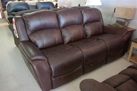 paul s upholstery lazy boy leather recliner sofa leather la z boy thesofa