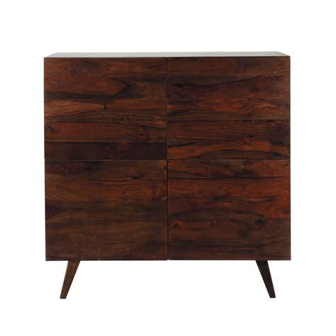 credenza vintage credenza alta vintage in massello di legno di sheesham