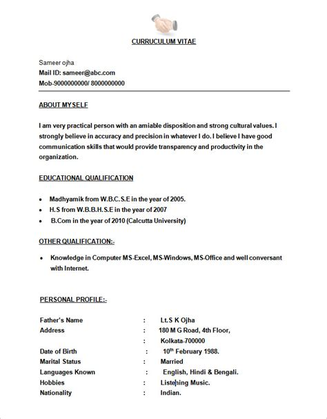 resume formats free download best resume formats 40 free sles exles format