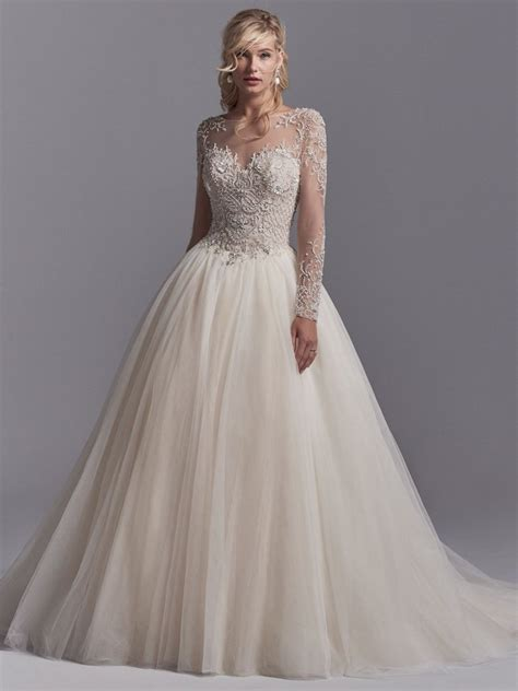 Wedding Gowns Lace Sleeves by Illusion Sweetheart Neck Sleeve Lace Applique Wedding