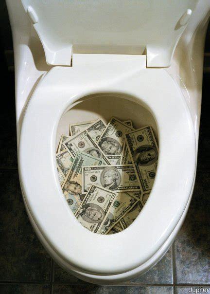 money shitted  em toilet bowl seat spaceegod
