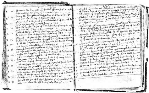 Ma Birth Records 18th C House Wrights Jointers Carpenters Early