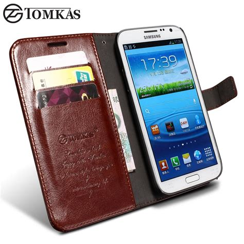 New Flip Cover Wallet Samsung Note 2 3 4 5 S7 Edge S7 Flat S8 tomkas for samsung galaxy note 2 wallet flip cover with kickstand pu leather phone for