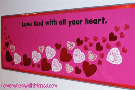 bulletin board ideas for valentines day 5 s day church bulletin boards godly