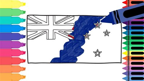 How To Draw New Zealand how to draw new zealand flag draw the flag of new zealand