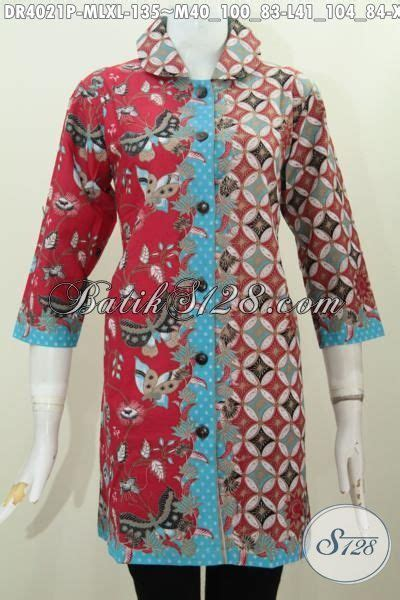 Baju Wanita Ukuran Xl jual baju dress batik printing ukuran xl busana batik