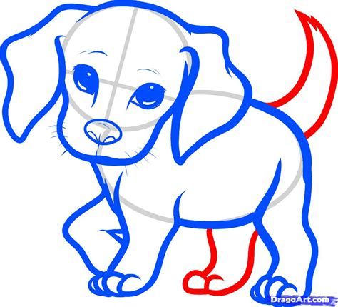 how to draw a puppy step by step how to draw a beagle puppy beagle puppy step by step pets animals free