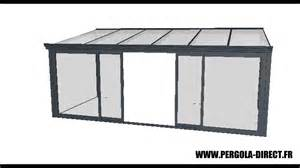 veranda kit aluminium www pergola direct fr