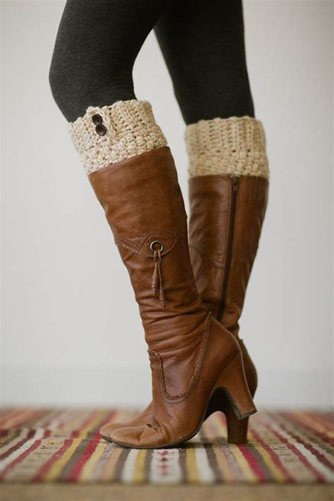 knit leg warmers for boots knitted boot cuffs faux leg warmers or boot toppers with