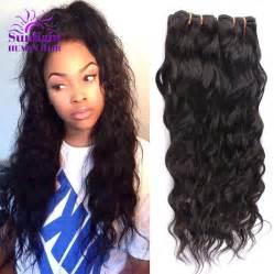 and wavy human hair weave hairstyles brazilian virgin hair 4 bundles brazilian water wave wet