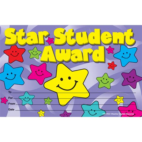 Star Student Awards   TCR1922   Teacher Created Resources