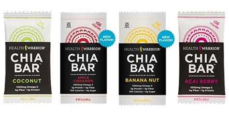 Healthy Seed Bar healthy snacks health warrior chia bars