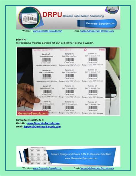 Barcode Etiketten Drucken Online by Wie Design Und Drucken Barcode Etiketten Mit Drpu Barcode