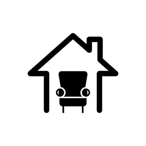 icon design upholstery collection of home icons free download